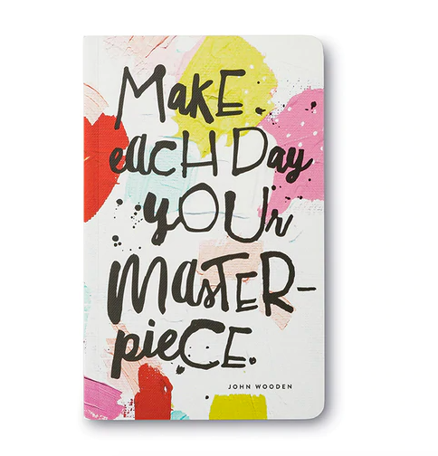 """""""Make each day your masterpiece.""""  Soft Cover Journal"""