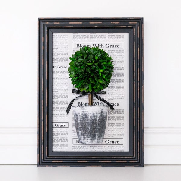 $30 OFF! - Boxwood Topiary Frame