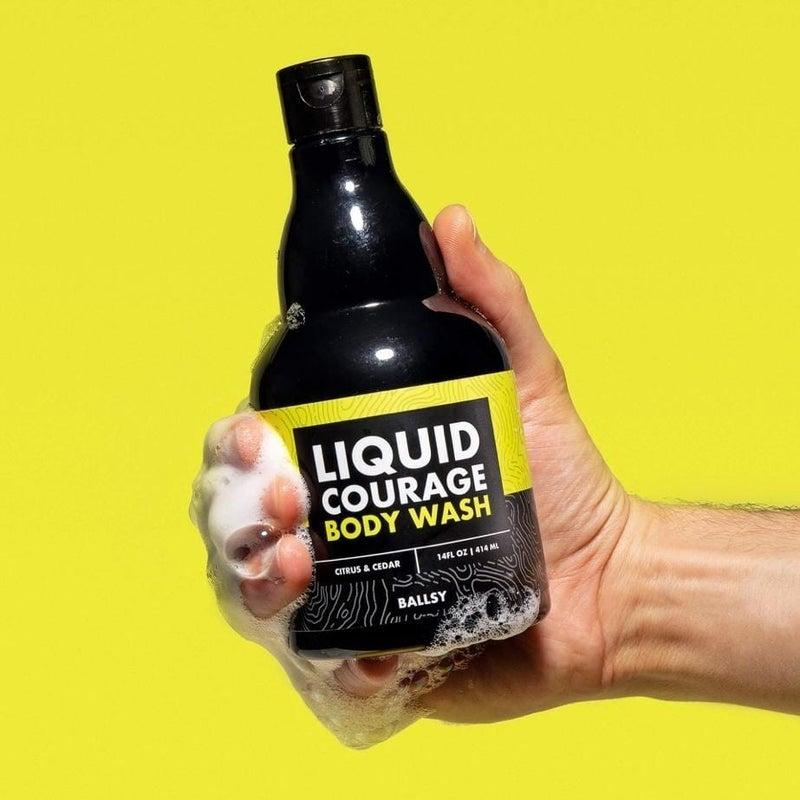 Liquid Courage Body Wash in Citrus & Cedar