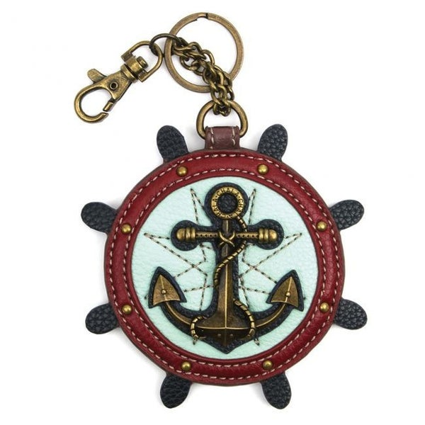 Chala - Anchor - Key Fob/Coin Purse
