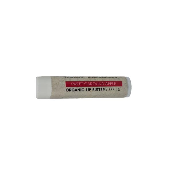 Organic Lip Butter - Sweet Carolina Apple SPF15