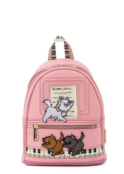 !LOUNGEFLY X Disney Aristocats Piano Kitties Mini Backpack