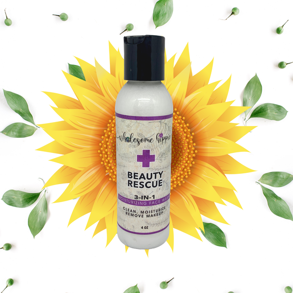 4oz Beauty Rescue 3-in1 Moisturizing Face Wash
