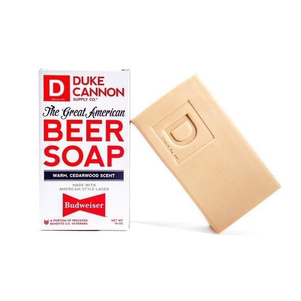 Duke Cannon   Great American Budweiser Soap