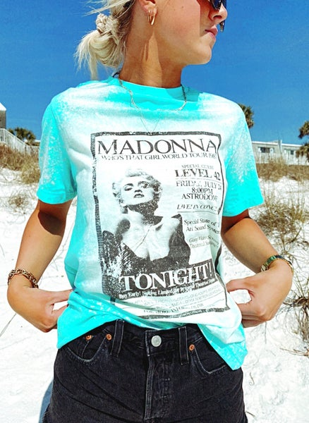 Madonna Bleached Graphic Tee
