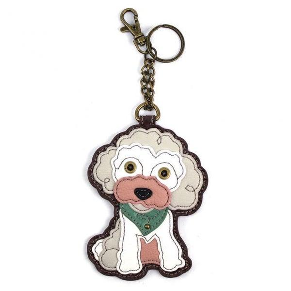 Chala - Poodle - Key Fob/Coin Purse