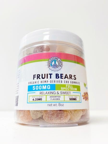 WH Organic Full Spect Gummy Bears 8oz
