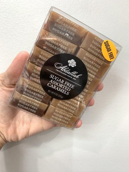 Box SUGAR FREE Asst Caramels