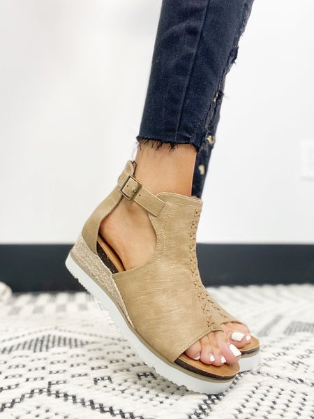Corkys Sugar City Taupe Sandals