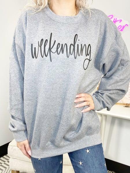 Weekending Graphic Sweatshirt