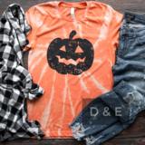 Bleached Pumpkin Graphic Tee