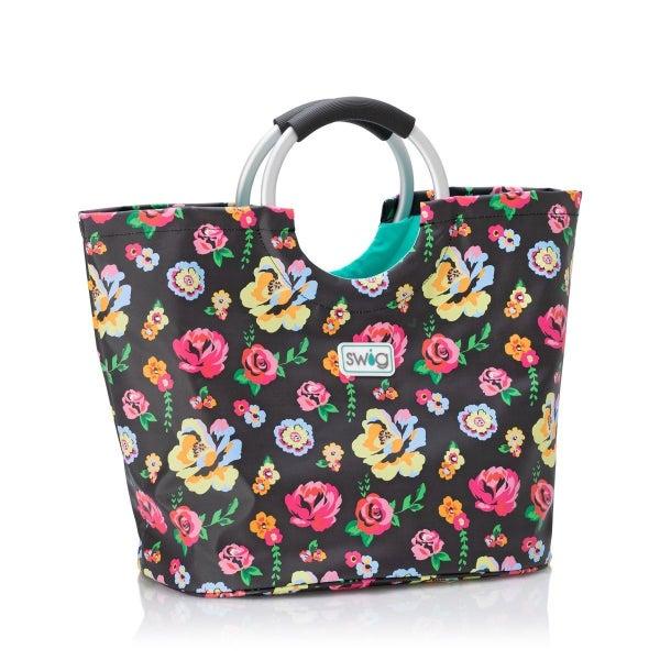 Fleur Noir Loopi Tote Bag