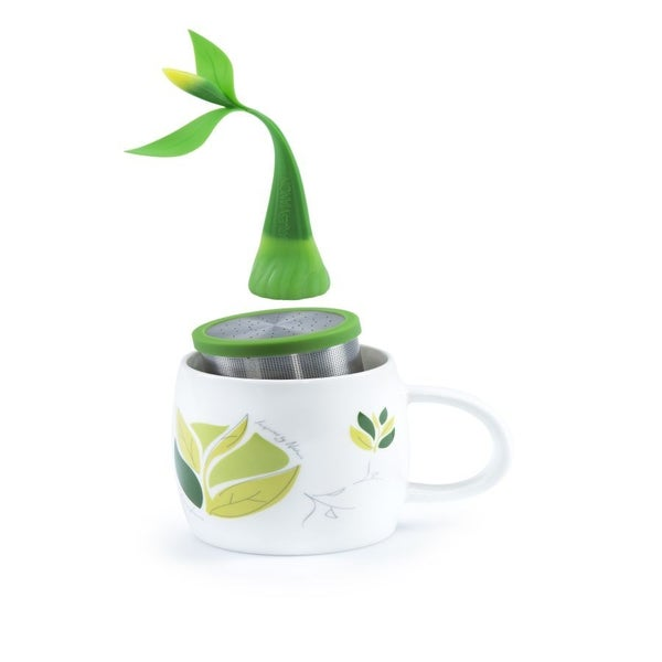 Camellia Tea Magnet + Infuser Set