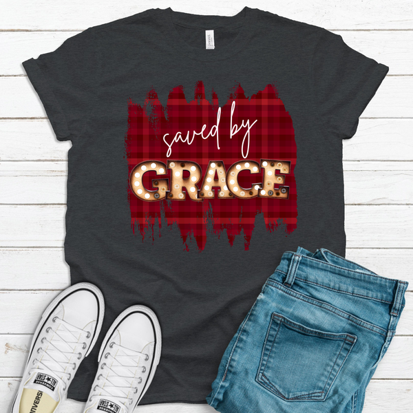 SAVED BY GRACE | Graphic Tee