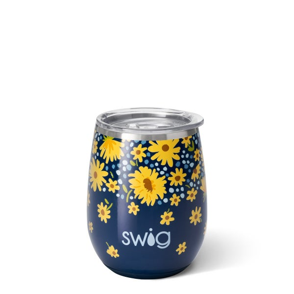 Lazy Daisy SWIG Stemless Wine Cup (14oz)