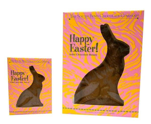 Chocolate Bunny *Available in MILK, WHITE, OR SUGAR FREE*