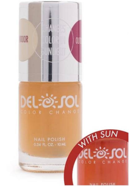 Del Sol Peek A Boo Nail Polish
