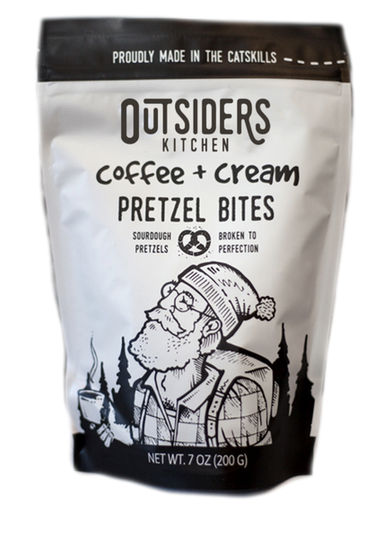 Outsiders Kitchen Sourdough Pretzel Bites | Coffee & Cream
