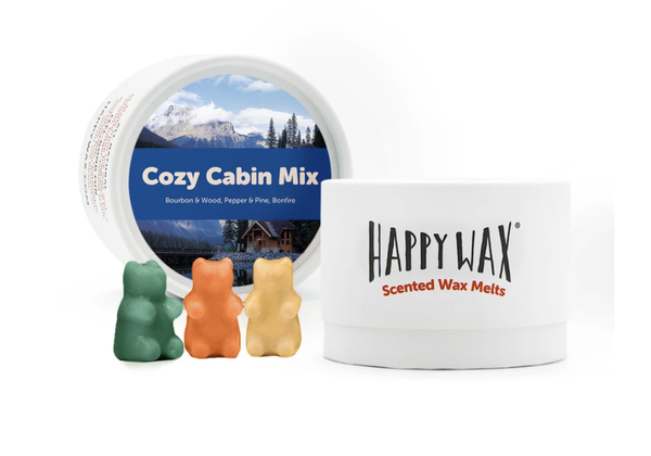 Happy Wax   Cozy Cabin Wax Melts
