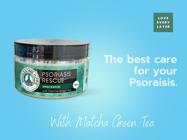 4oz Psoriasis Rescue with Matcha Green Tea