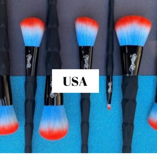 7 Piece Makeup Brush Set with Bag ***Multiple Colors