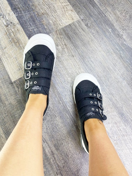 Jolissa Black Ranger Sneaker