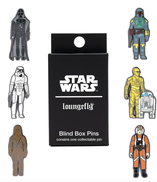 Loungefly Star Wars Empire 40 Blind Box Pin