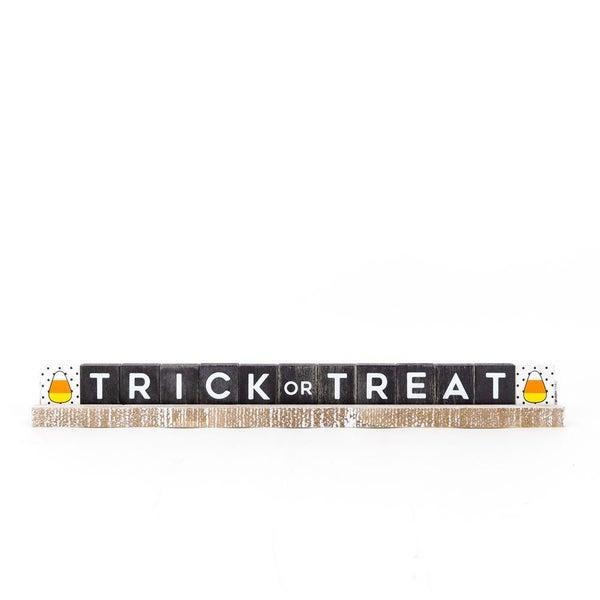"""TRICK OR TREAT"" Wood Ledgie Kit 20"""
