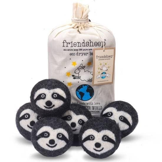 Friendsheep | Sloth Squad Eco Dryer Balls