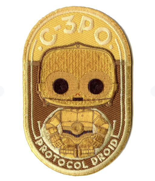 Loungefly C-3PO Patch