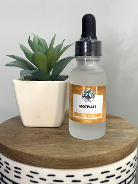 Wholesome Hippie - Essential Oil Blend - Motivate