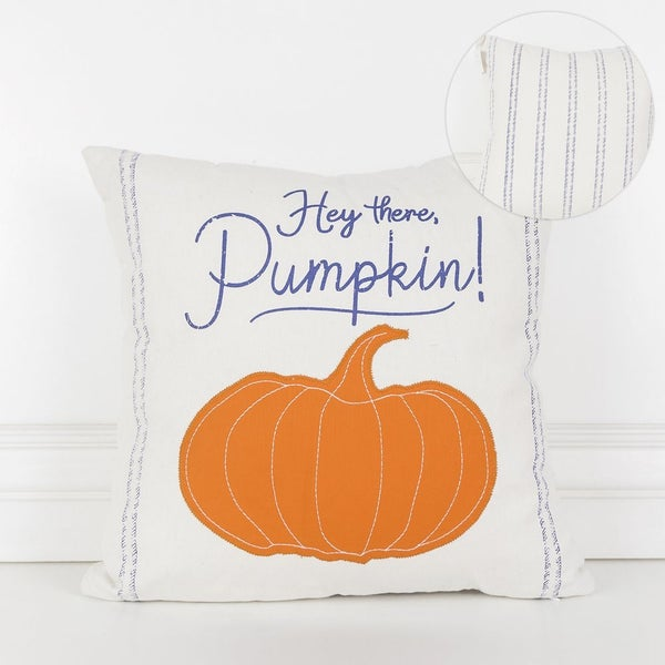 Hey There Pumpkin Canvas Pillow