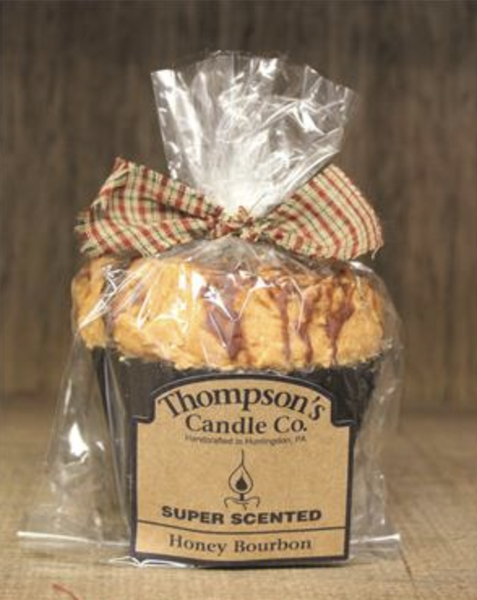 Honey Bourbon Muffin Candle