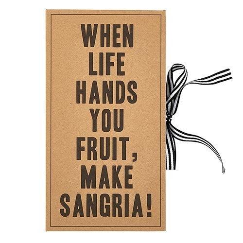 Cardboard Book Set - Sangria Kit