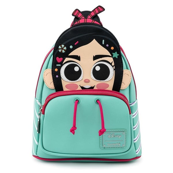 LOUNGEFLY X DISNEY WRECK-IT RALPH VANELLOPE COSPLAY MINI BACKPACK