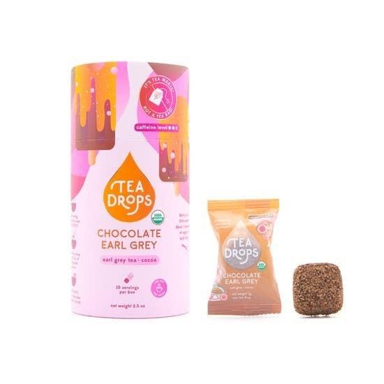 LAST ONE! - Tea Drops   Chocolate Earl Grey