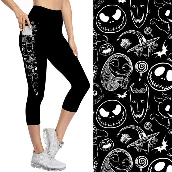 Capris with Pockets | Nightmare