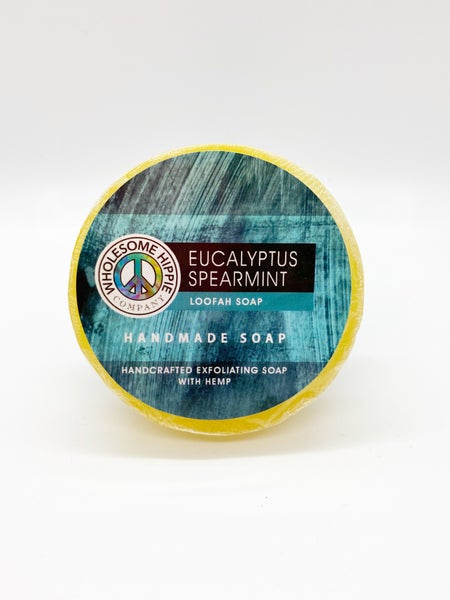 WH 4.5oz Eucalyptus Spearmint Loofah Soap