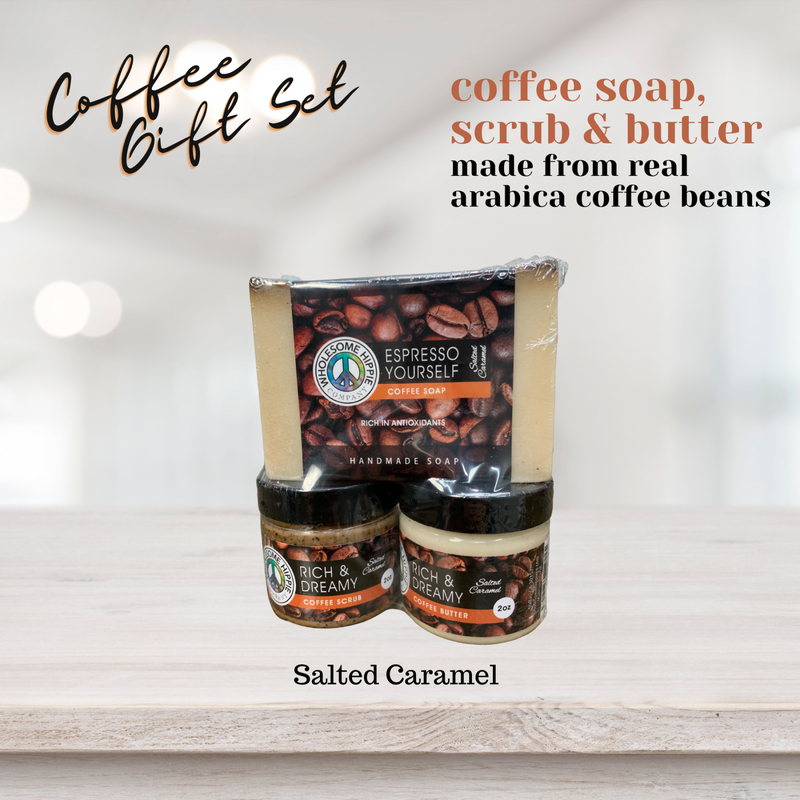 RETIRING Wholesome Hippie Coffee Gift Set - $50 Value