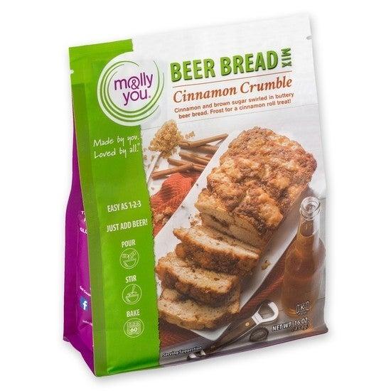 Cinnamon Crumble Premium Beer Bread Mix