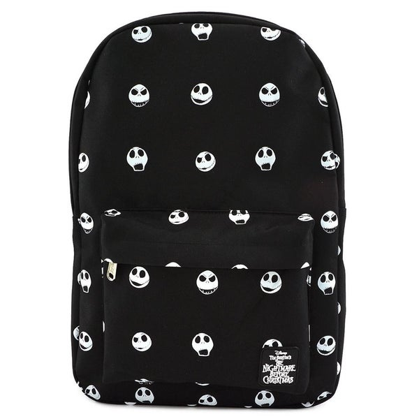 Loungefly Nightmare Before Christmas AOP Jack Head Nylon Backpack