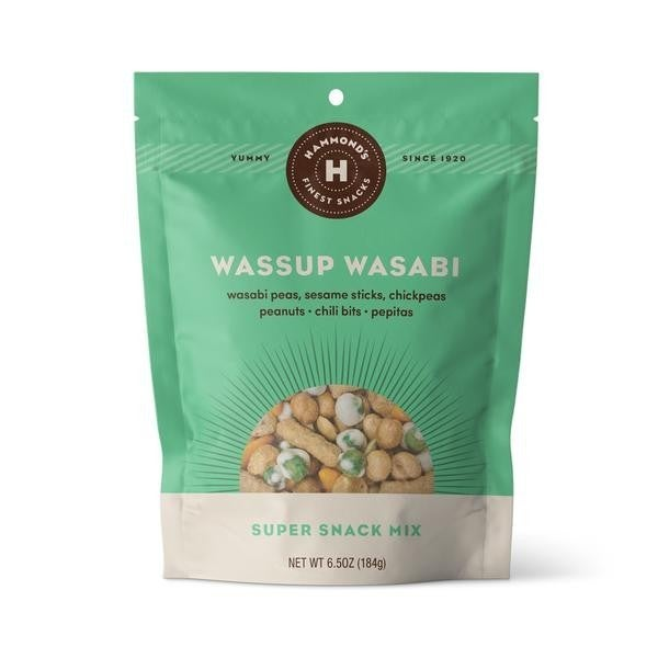 Hammonds | Wassup Wasabi Snack Bag