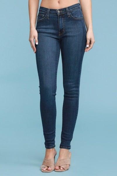 Judy Blue High Waist Hand Sand Skinny Jean
