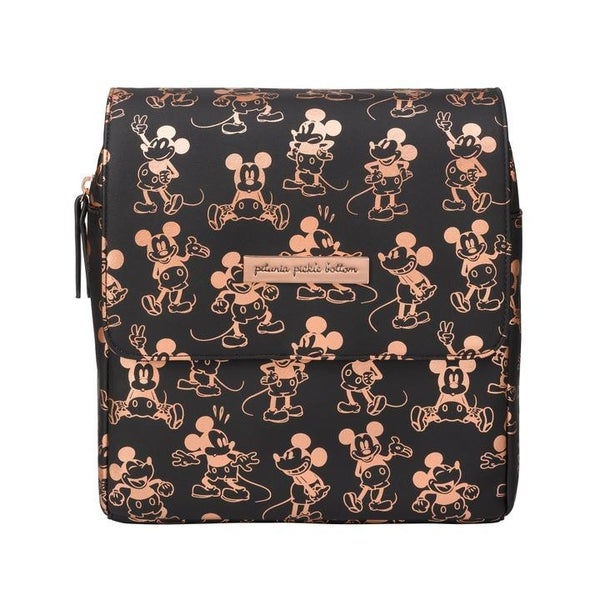 Petunia Pickle Bottom | Metallic Mickey Mouse Mini Boxy Backpack