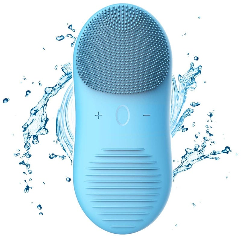Wireless Charging Waterproof Ultrasonic Face Pore Cleansing