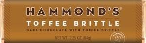 Hammonds Candy Bar | Toffee Brittle Dark Chocolate