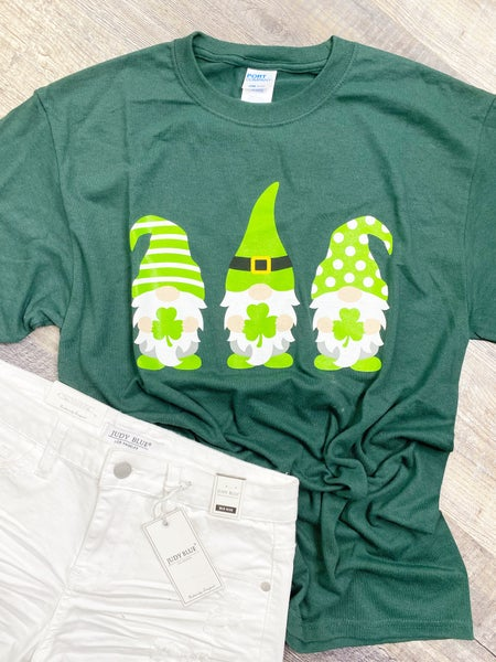MED & XL ONLY - Lucky Gnomes Graphic Tee