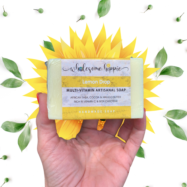 6.6 oz Vitamin C with Lemon Drop Soap