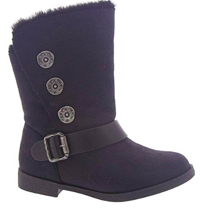 SIZE K8 ONLY - Blowfish Kids Stassies Black Boots