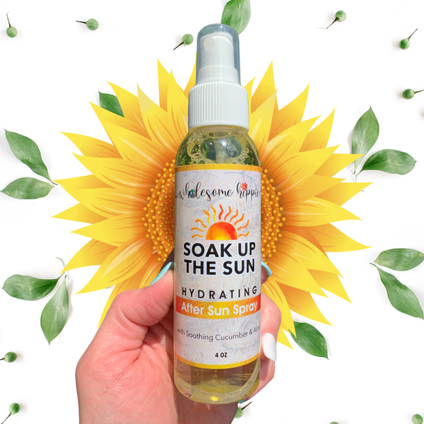 4oz After Sun Spray with Cucumber & Aloe - Pineapple Margarita